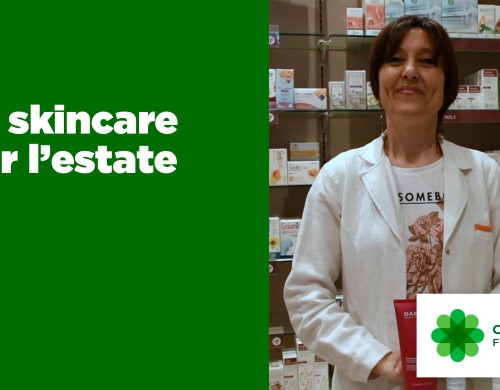 Skincare per l'estate in tre step